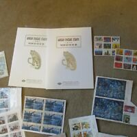 Worldwide Stamp Collection 9 Freezer Bags Full and More!