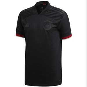 adidas Germany Euro 2021 Away Soccer Jersey Brand New Black / Red
