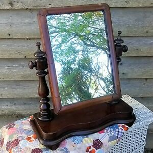 Cottage Core Vintage Toilet Vanity Mirror Cottageware Country Shabby Chic