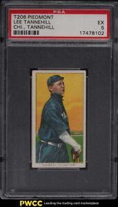 1909-11 T206 Lee Tannehill CHICAGO, TANNEHILL PSA 5 EX