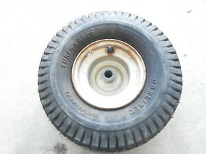 SureFit 15 Front Solid Wheel Tire Assembly Smooth Tread for Universal Zero-Turn Mowers 15x6-6