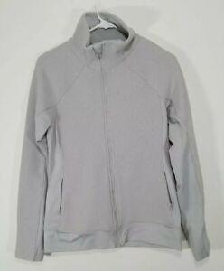 Under Armour Womens ColdGear Infrared Full Zip Jacket Small 1250137 Legion Gray