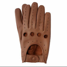 Men's Genuine Leather Driving Gloves Riding Gloves Fashion Leather Gloves 39