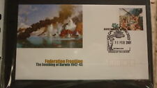 2001 AUSTRALIAN MILITARY BOMBING OF DARWIN FIRST DAY COVER, ANZAC PM