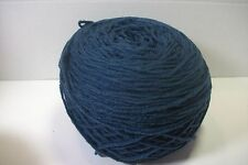 acrylic worsted wt 4 ply yarn soldier  blue 8 oz