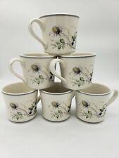 Set (6) Royal Albert Wild Briar Country Garden Tea Cups England