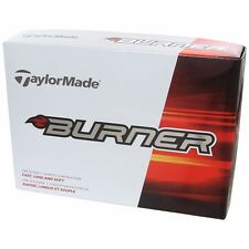 Taylor Made Burner Golf balls One Dozen Box Good Distance Durable White Color