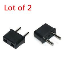 110V-220V USA to EU Korea Travel Adapter Power Socket Plug Converter Convertor