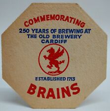 BEER MAT - Brains (S. A. Brain & Co., Cardiff)