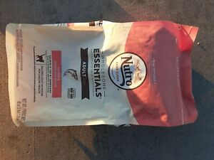 NUTRO WHOLESOME ESSENTIALS Adult Natural Dry Cat Food Salmon & Brn Rice lot of 2