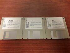 Microsoft MS-DOS 6.22 Upgrade Disk set (1-3), Disks only