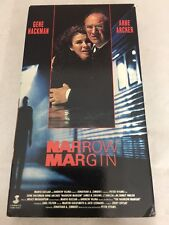 """Narrow Margin"" Starring: Gene Hackman, Anne Archer & M Emmet Walsh (VHS 1990)"