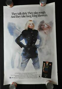 "1986 ""REFORM SCHOOL GIRLS "" 27"" x 41"" Movie Poster Wendy O. Williams Linda Carol"