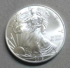 2015 American Silver Eagle 1 oz .999 Fine Silver Dollar, Taken from BU Roll