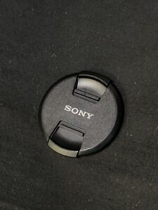 Movie Film Cover Only 82mm SONY Camera LENS CAP Nice