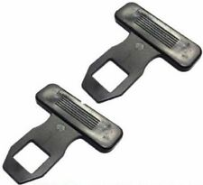 2 x Universal Car Safety Seat Belt Buckle Alarm Eliminator Clip Stop Warning Hot