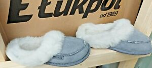 Genuine leather slippers