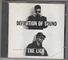 DEFINITION OF SOUND - the lick CD
