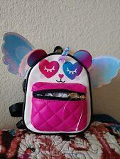 Luv Betsey Johnson Unicorn Panda Glitter Retractable Winged Mini Backpack