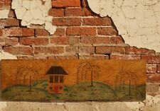 Antique Primitive Folk Art Tavern Inn Painting Sign East Coast 18th C. - 19th C.