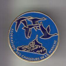 RARE PINS PIN'S .. TOURISME CHASSE CANARD DUCK MONT ST SAINT MICHEL 50 ~CX