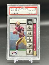 2005 Alex Smith Upper Deck Rookie Premiere #2 RC PSA 10 GEM MINT Redskins QTY