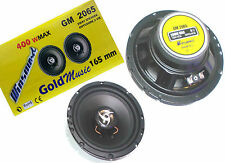COPPIA ALTOPARLANTI AUTO 16,5 CM 2 VIE 400WATT CASSE 400W WOOFER SPEAKER GM2065