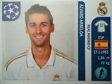 Panini 214 Alvaro Arbeloa Real Madrid UEFA CL 2011/12