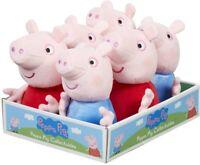 Peppa Pig Plush Toy Super Soft Beanie Plush George Peppa 16 19 cm