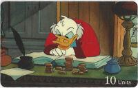 TK 316b Telefonkarte/Phonecard Sprint 10u 1995 Disney Series: Onkel Dagobert