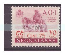 AOI  1942 -  SEGNATASSE  Centesimi 75    NUOVO **