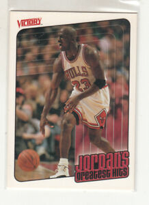 MICHAEL JORDAN 1999-00 Upper Deck Victory Greatest Hits #418 Chicago Bulls Mint