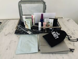 Harvey Nichols Washbag Filled With Luxury Cult Beauty Syrene Trish McEvoy Fresh