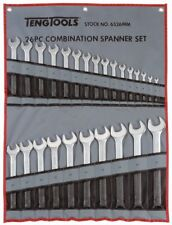 TENG TOOLS 6526mm | 26 Piece Combination Spanner Set 6 - 32mm in Tool Roll