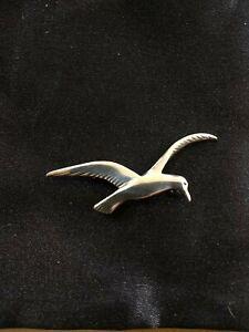 Vintage Sterling Silver Ola Gorie Tern Brooch.