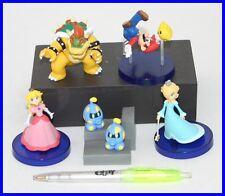 Raro SET 5 Figure SUPER MARIO GALAXY Peach BOWSER Mario TOMY Gashapon FIGURES