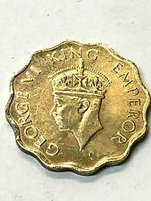 1944 George VI India 1 Anna Coin