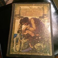 POEMS,OF CHILDHOOD EVGENE FILD ILLVSTRATIONS BY MAXFIELD PARRISH 1904