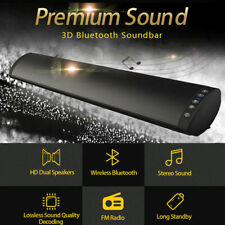 Home Theater Soundbar Bluetooth Speaker Subwoofer Heavy Bass Sound System Party