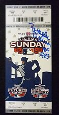 Brooks Robinson Auto w/ HOF inscription 2009 All-Star Sunday Ticket St Louis COA