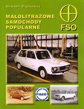 Book - Malolitrazowe Samochody Popularne FSO - Syrena Smyk 110 Wars Prototypes