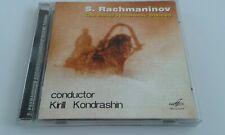 Rachmaninov: The Bells / Symphonic Dances CD Kondrashin - conductor MELODIYA