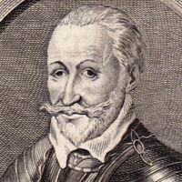 Portrait XVIIIe André de Montalembert Comte d'Essé Bataille Fournoue Landrecies