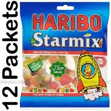 12x Haribo Starmix Halal Sweets 80g Box of 12 Discount if you Buy More Than One