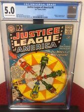 Justice League of America 6 (CGC Graded) 1st Appearance of Professor Fortune