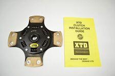 XTD STAGE 4 4PUCK RACING CERAMIC CLUTCH DISC ECLIPSE TALON 3000GT STEALTH GALANT