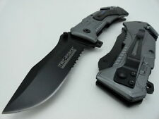 Couteau Tactical Rescue Evasion A/O Lame Inox Cutter Brise Vitres TF688AF