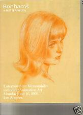 BONHAMS Marilyn Monroe Presley James Dean Entertainment Auction Catalog 2008