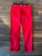 ZARA Red Skinny Jeans Size 12