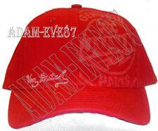 VON DUTCH BASEBALL CAP ~ GENUINE JUNK PARTS PRINTED IN FRONT~ IN RED ~NO MESH